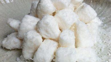Receita de bala de coco (gelada)