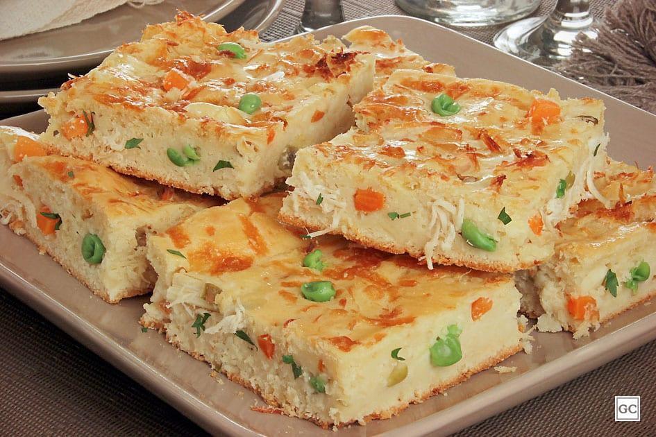 Torta Salgada de V%C3%B3 Receitas L%C3%A1 na Ro%C3%A7a - Torta Salgada da Vovó
