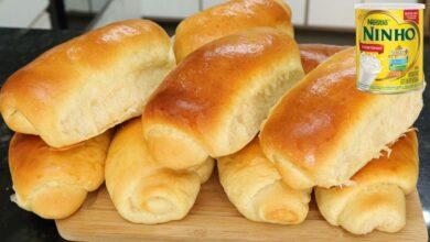 Pão Caseiro com Leite Ninho