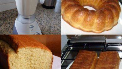Pão de liquidificador 1