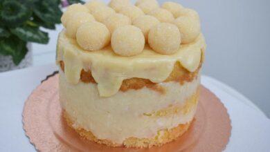 Receita de Bolo de beijinho gourmet 390x220 - Receita de Bolo de beijinho gourmet