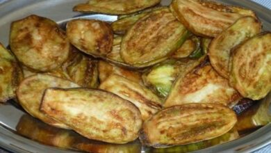 Jiló Frito com Maionese de Alho