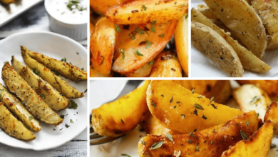 Receita de Batatas Fritas no Forno