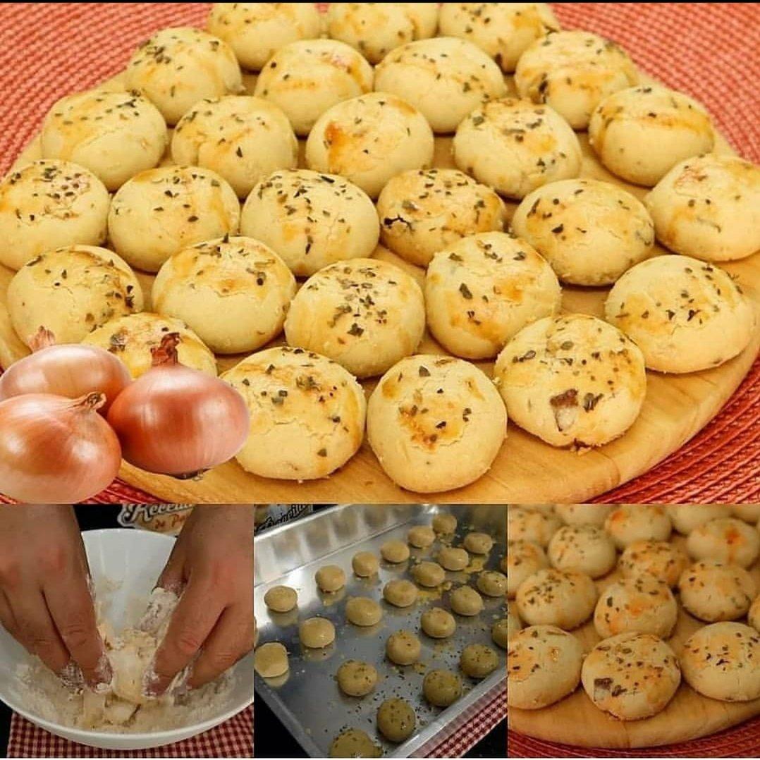1587426757 Biscoitinhos de Cebola - Receita de Biscoitinhos de Cebola