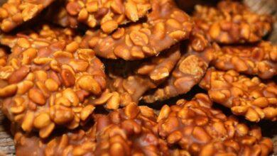Pe de Moleque de rapadura com 4 ingredientes 390x220 - Pé de Moleque de rapadura com 4 ingredientes