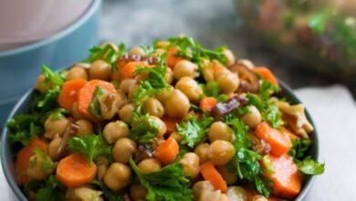 Salada de Grão de Bico 1 390x220 - Salada de Grão de Bico Saudável e Saborosa