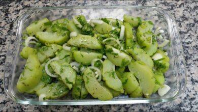 Salada de Chuchu Fácil